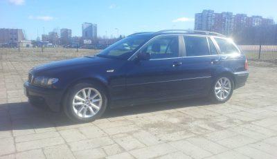 BMW 320d (dyzelinas, automatas)